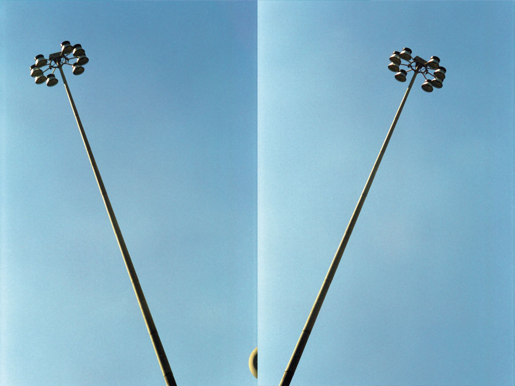 Claude Closky, 'Seen With My Head Tilted Left and Tilted Right (streetlight)', 1997, c-print, 75 x 102 cm.