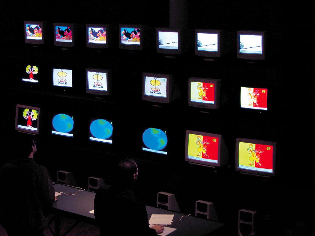 Claude Closky, Television, 2003