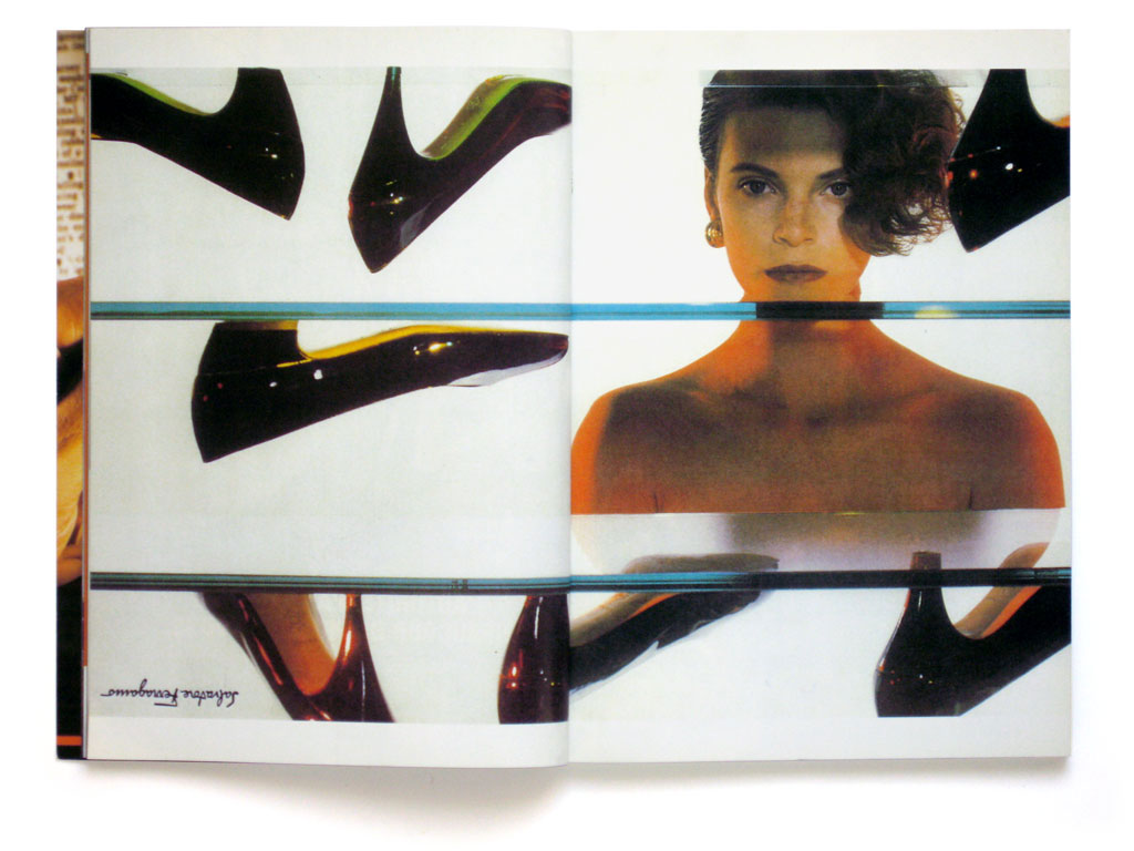 Claude Closky, 'Untitled (Ferragamo)', 1997, Dijon: Permanent Food n°4, pp. 16-17, 23,5 x 34 cm.