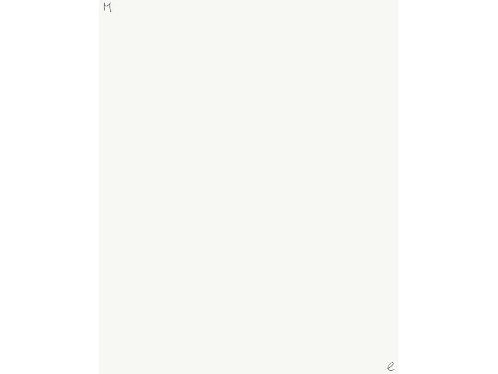 Claude Closky, 'Me', 1994, ballpoint pen on paper, 30 x 24 cm.