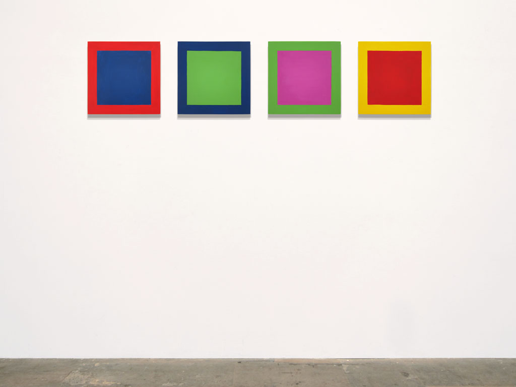 Claude Closky, 'Untitled (profound MR)', 2011, acrylic on canvas, 4 x 40 x 40 cm.