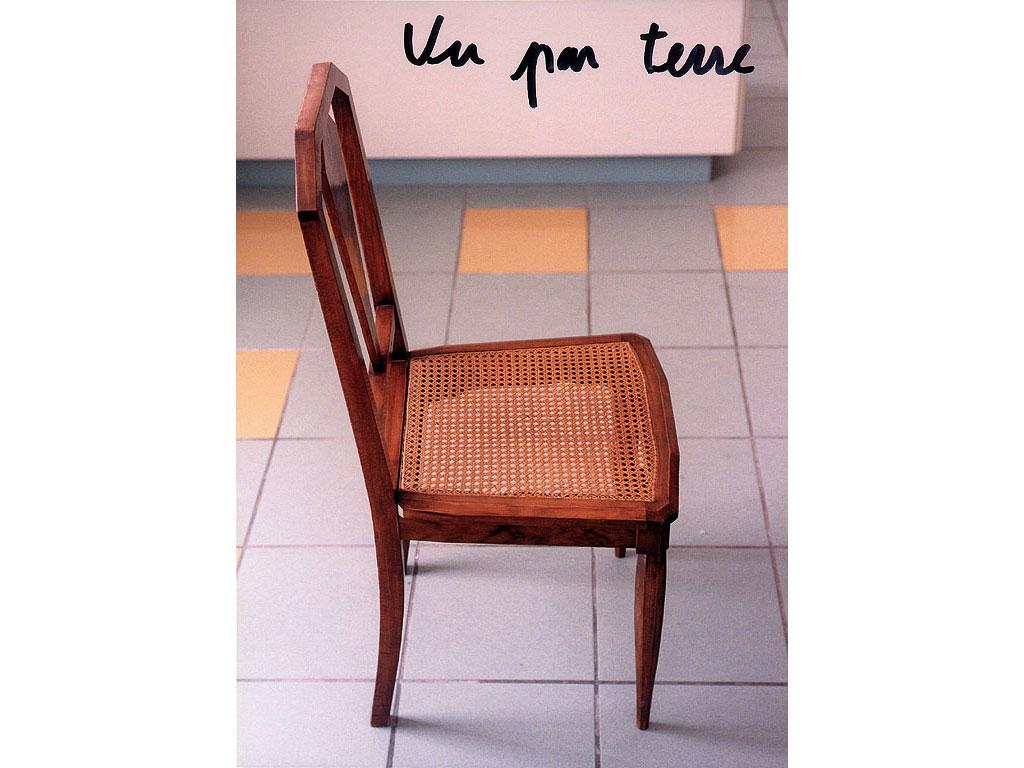 Claude Closky, 'Vu par terre [Seen on the ground]', 1995, c-print, permanent felt pen, 15,2 x 22,5 cm.