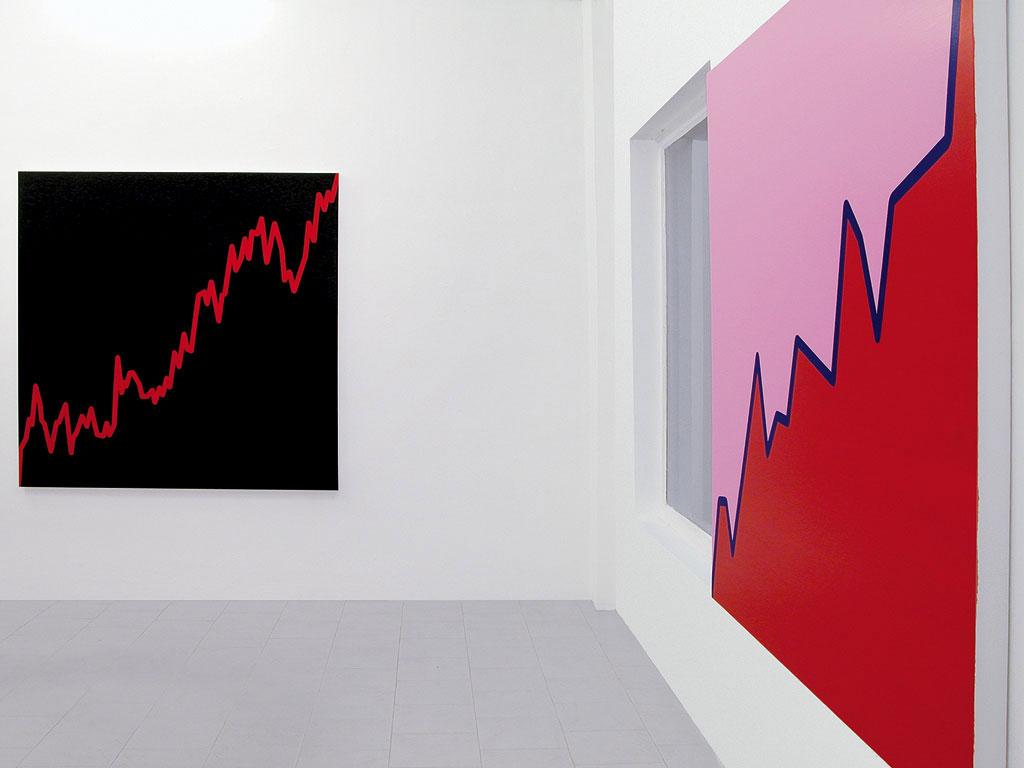 Claude Closky, 'New paintings', Galleria Nicola-Fornello, Torino. 8 November 2003 - 30 January 2004.