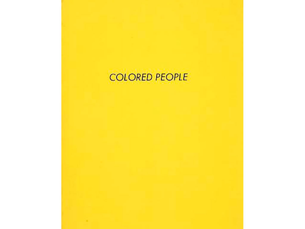 Ed Ruscha, Colored People, 1972