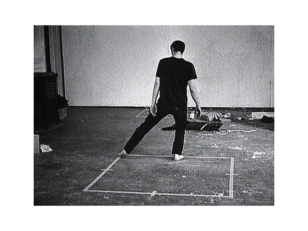 Bruce Nauman, Dance or Exercise on the Perimeter of a Square (Square Dance), 1965