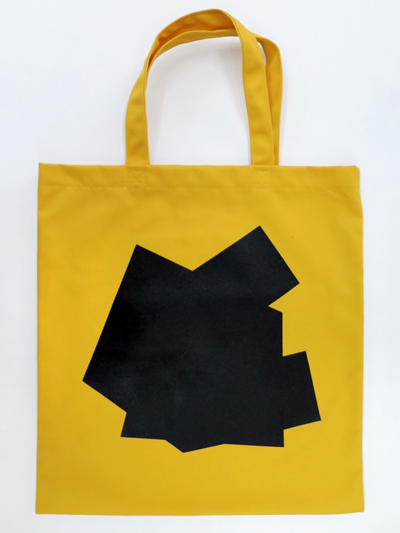 Claude Closky, 'Not Serif,' 2014, Toronto: The Book Club. Book bag, printed poly cotton twill, approximately 50 x 35 cm.
