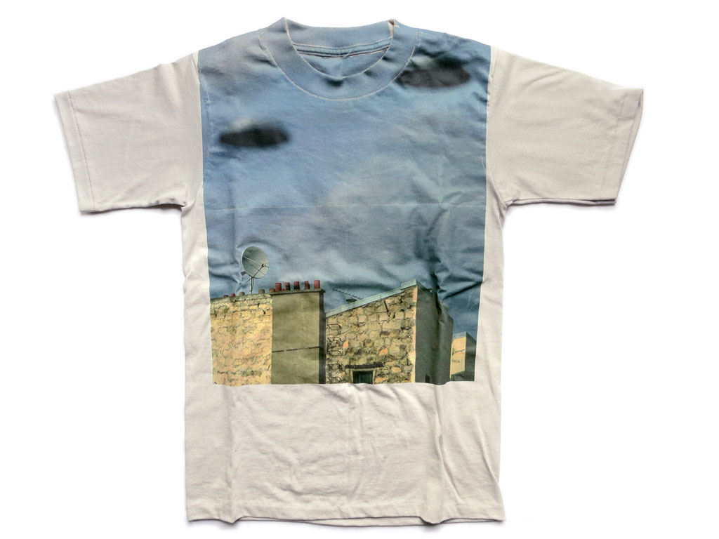 Claude Closky, 'Flying Saucers', 1999, Tokyo: Points de suspension. T-shirt, small, medium.