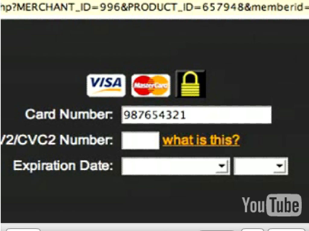 Claude Closky, 'Card Number', 2006, YouTube video (http://www.youtube.com/watch?v=3f_b92EbwGw), 11 seconds.