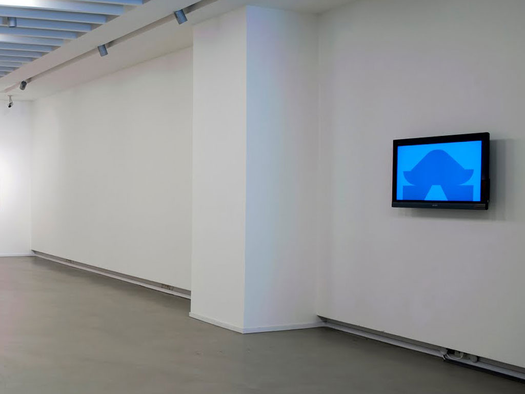 Claude Closky, 'Construction', 2009, flat screen, computer, 1280 x 720 px image, unlimited duration.