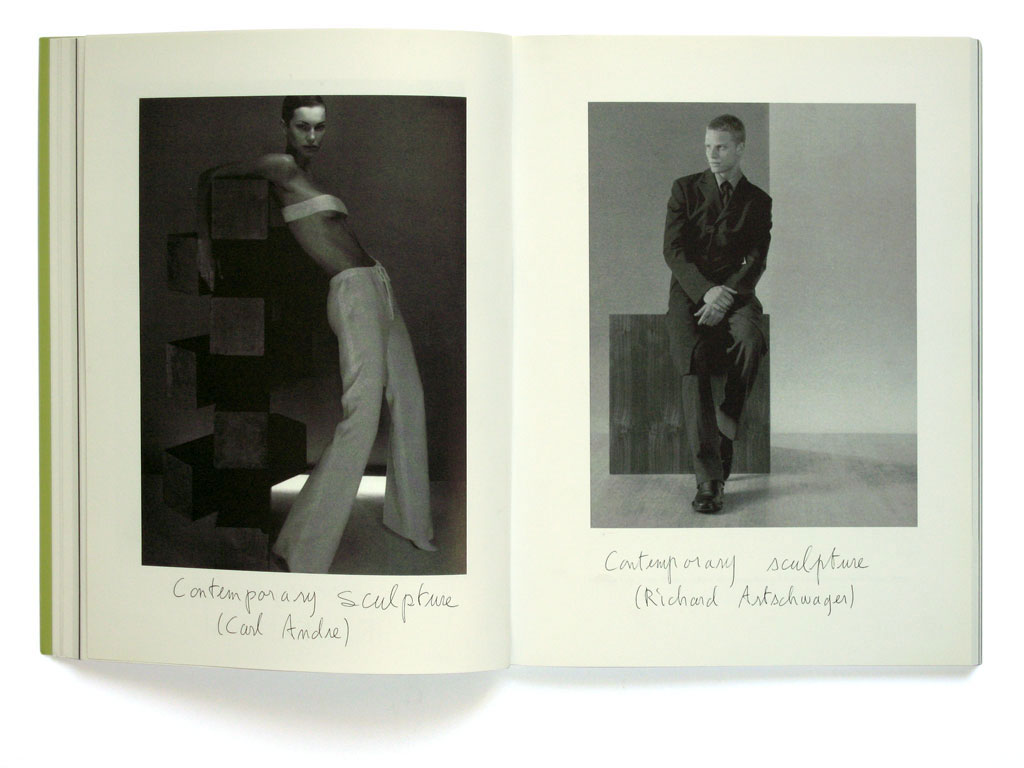 Claude Closky, 'Contemporary Sculpture', 2003, Toronto: Public #27, June, pp. 38-41.