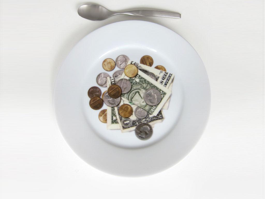 Claude Closky, 'Desert Plate', 2010, Paris: gdm. Royal Limoges ceramic d!sh, color silkscreen print, ø 21 cm.