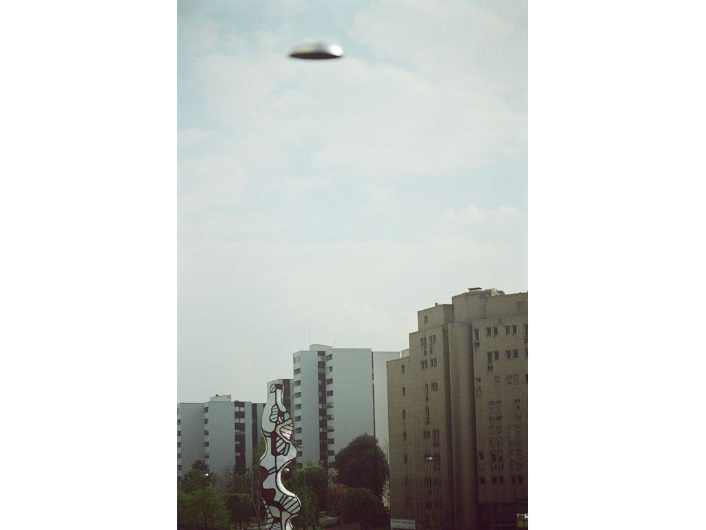 Claude Closky, 'Flying saucer, Dubuffet n°3', 2005, c-print, 30 x 20 cm.