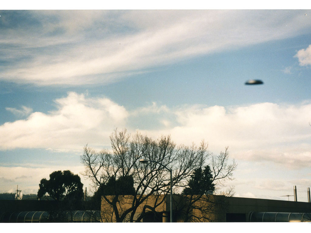 Claude Closky, 'Flying Saucer, Hobart (2)', 1996, c-print, 20 x 30 cm.