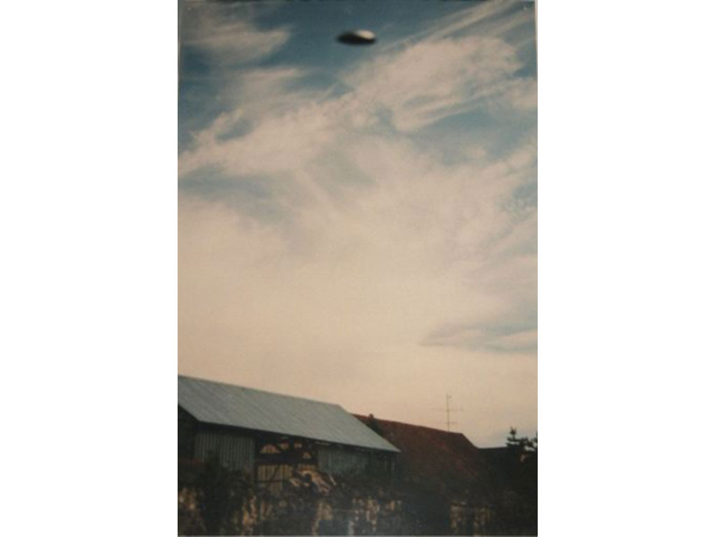 Claude Closky, 'Flying saucer, La Brosse (5)', 1996, c-print, 30 x 20 cm.
