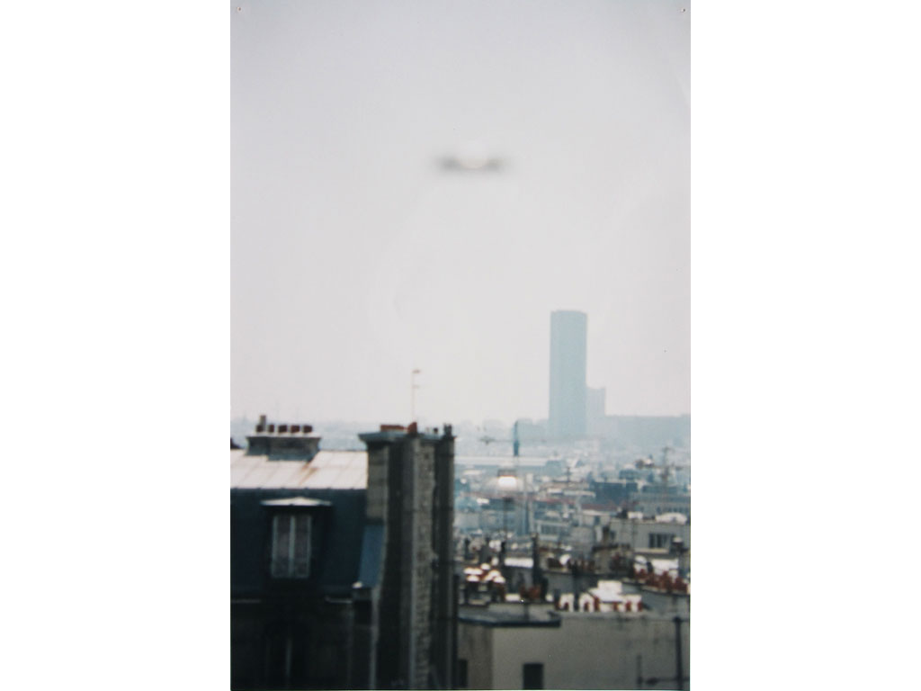 Claude Closky, 'Flying saucer, Tour Montparnasse n°2', 1996, c-print, 30 x 20 cm.