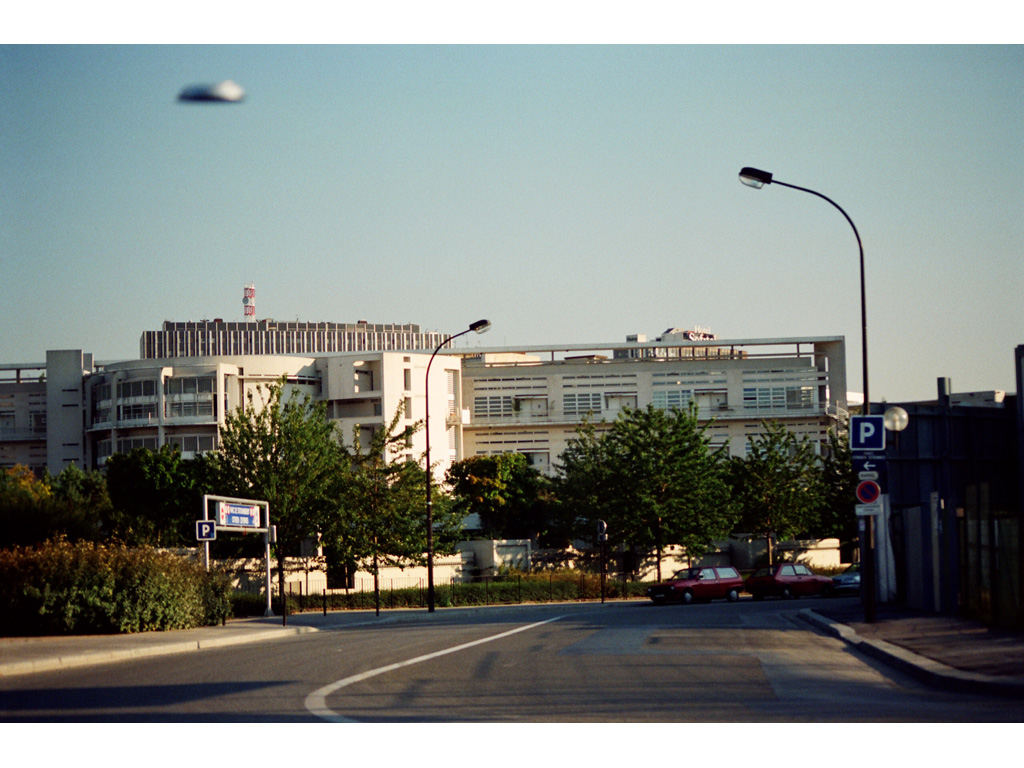 Claude Closky, 'Flying Saucer, Parking (1)', 1996, c-print, 20 x 30 cm.