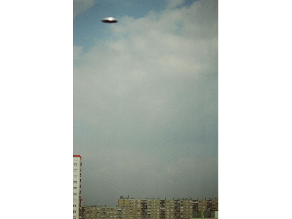 Claude Closky, 'Flying saucer, Vitry n°1', 2005, c-print, 30 x 20 cm.