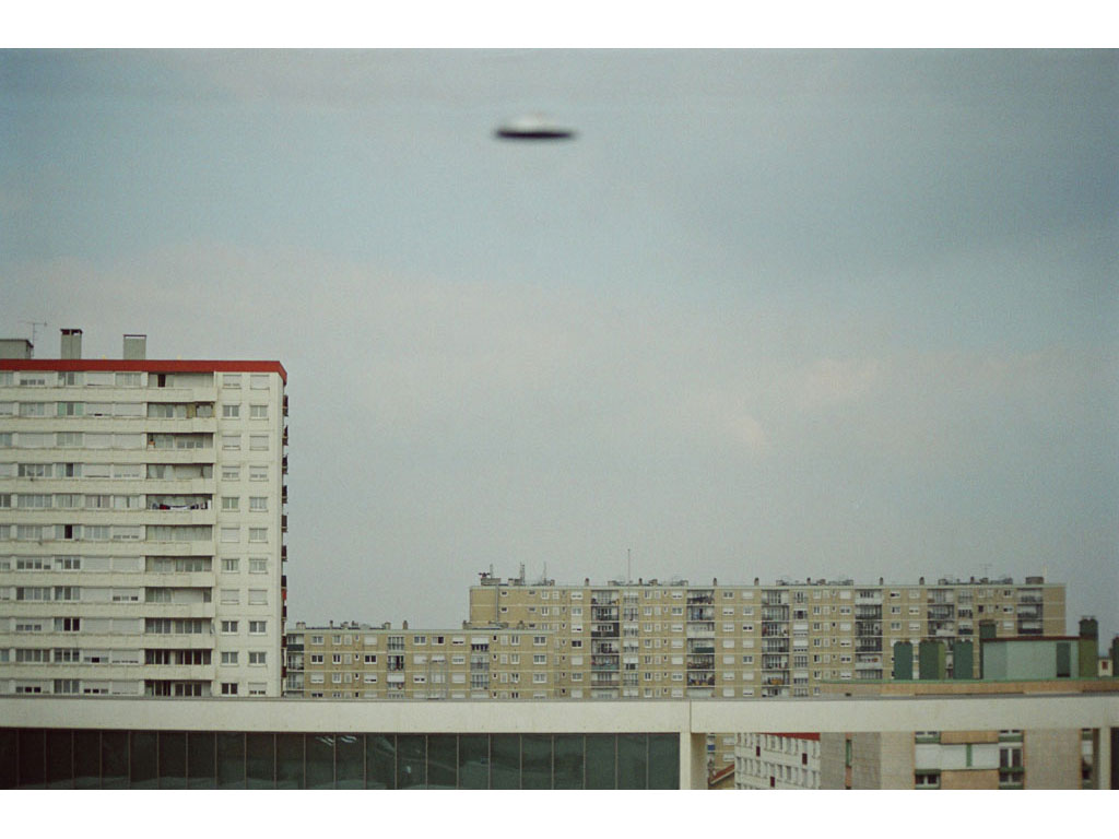Claude Closky, 'Flying saucer, Vitry n°2', 2005, c-print, 20 x 30 cm.