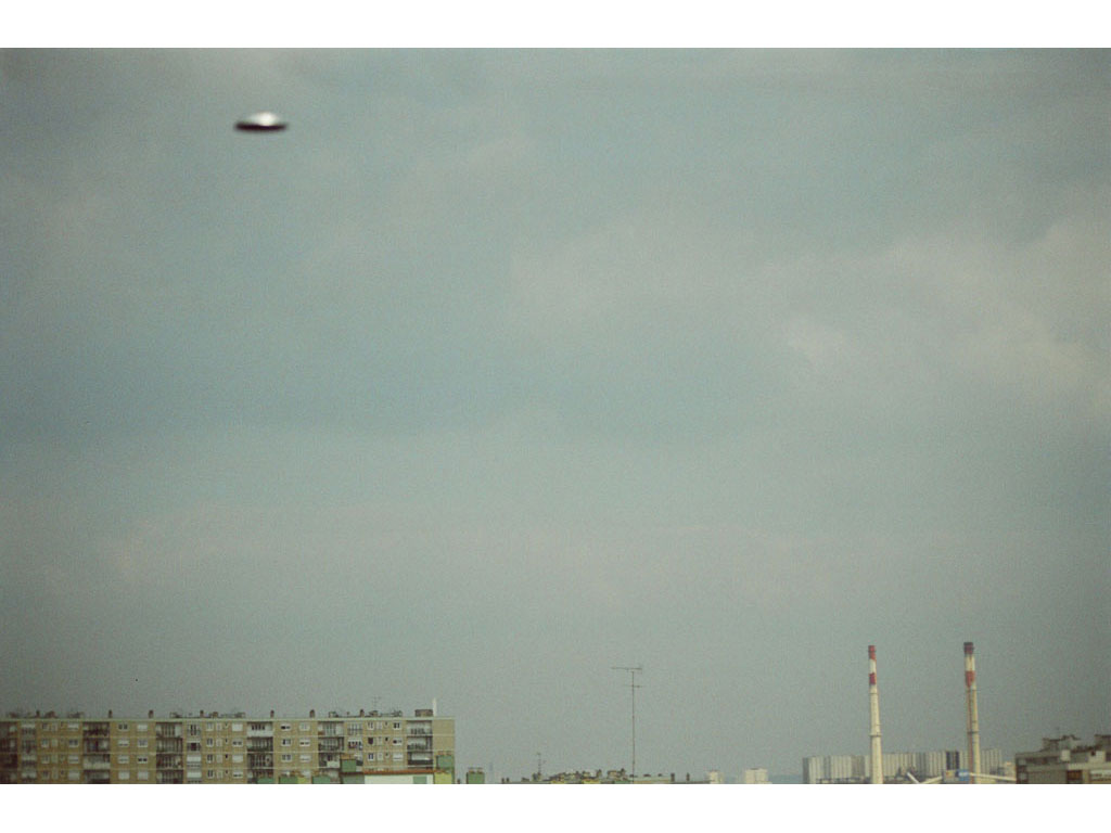 Claude Closky, 'Flying saucer, Vitry n°3', 2005, c-print, 20 x 30 cm.