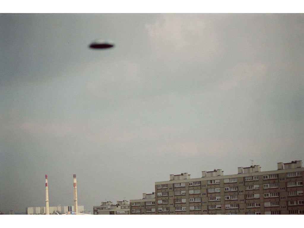 Claude Closky, 'Flying saucer, Vitry n°5', 2005, c-print, 20 x 30 cm.