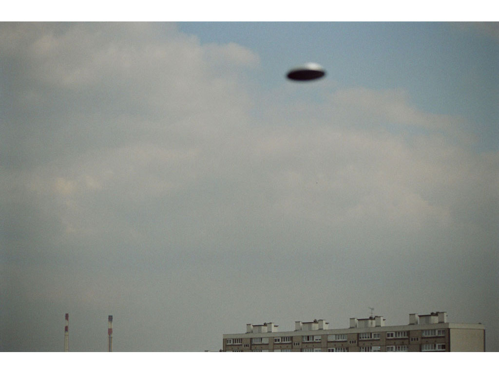 Claude Closky, 'Flying saucer, Vitry n°7', 2005, c-print, 20 x 30 cm.