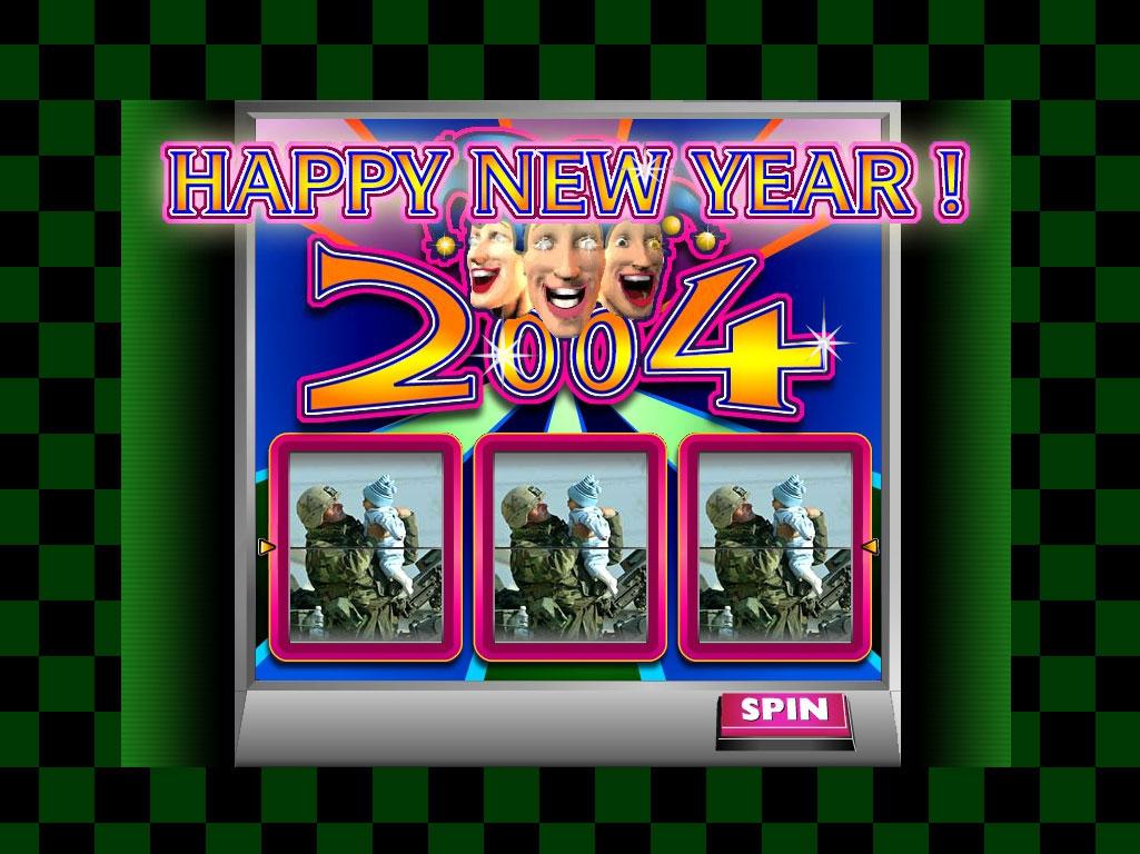 Claude Closky, 'Happy new year', 2003, interactive web site, Flash (http://archive.mudam.lu/closky/2004).