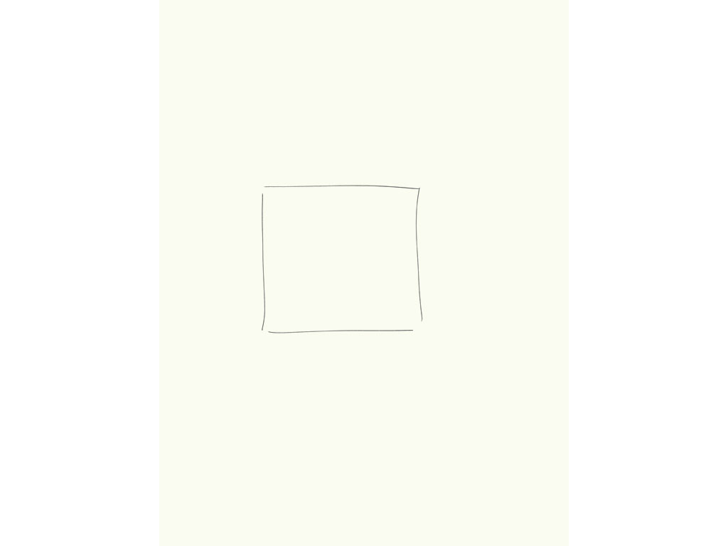 Claude Closky, 'Inside (square)', 2008, black ballpoint on paper, diptyque, twice 40 x 30 cm.