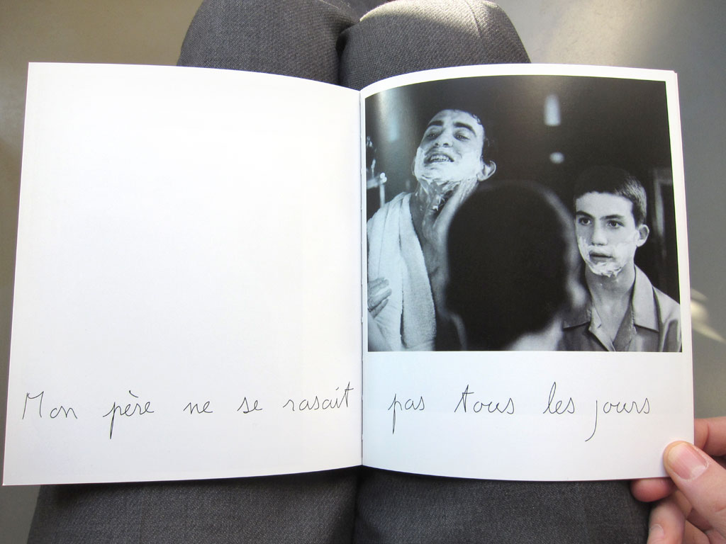 Claude Closky, 'Mon père [My Father]', 2002, Paris: M19, 80 pages, 20 x 17 cm.