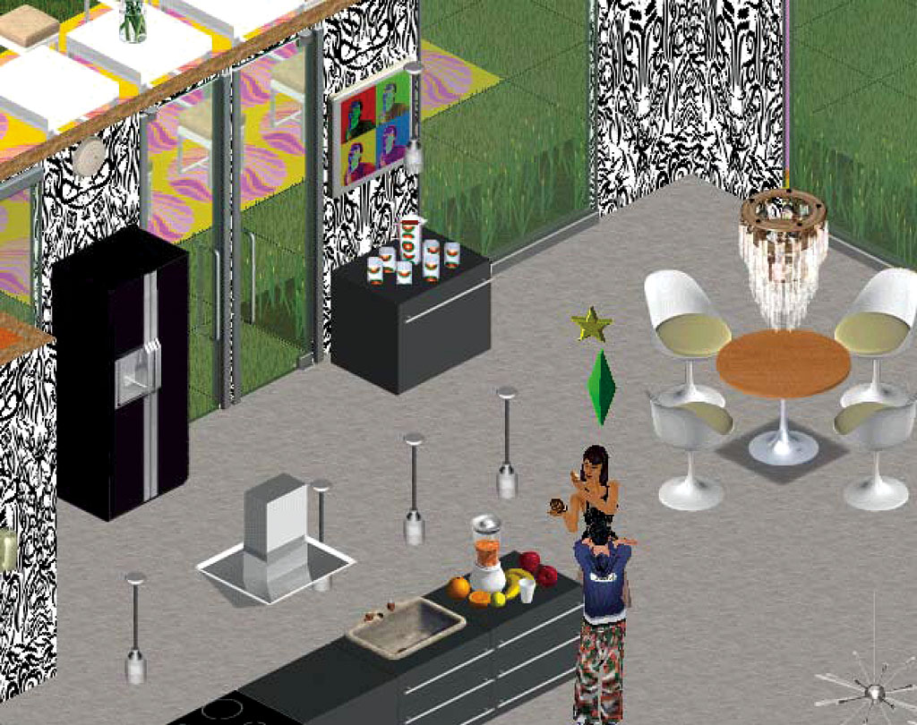 Claude Closky, 'Untitled (Tattoos)', 1997-2004, wallpaper for the Sims, .wll file..