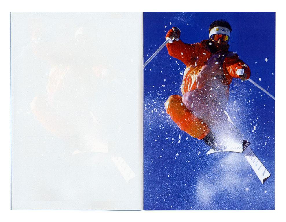 Claude Closky, 'Ski', 2000, Ljubljana: Moderna Galerija, 32 pages, 27 x 18 cm.
