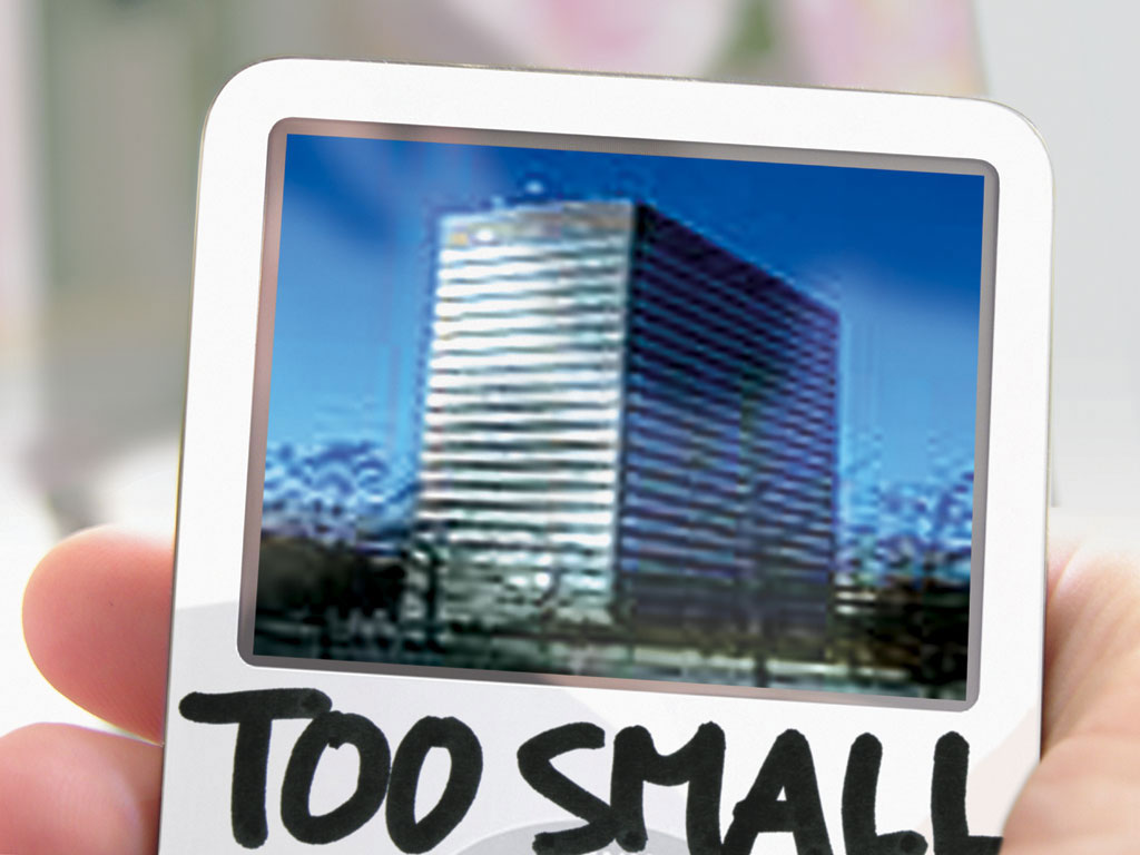 Claude Closky, 'Too small,' 2006, video for iPod, 60 minutes.