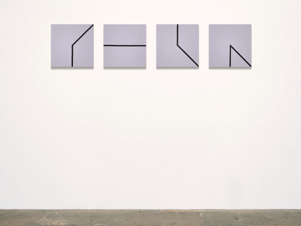 Claude Closky, 'Untitled (low average)', 2011, acrylic on canvas, 4 x 40 x 40 cm.