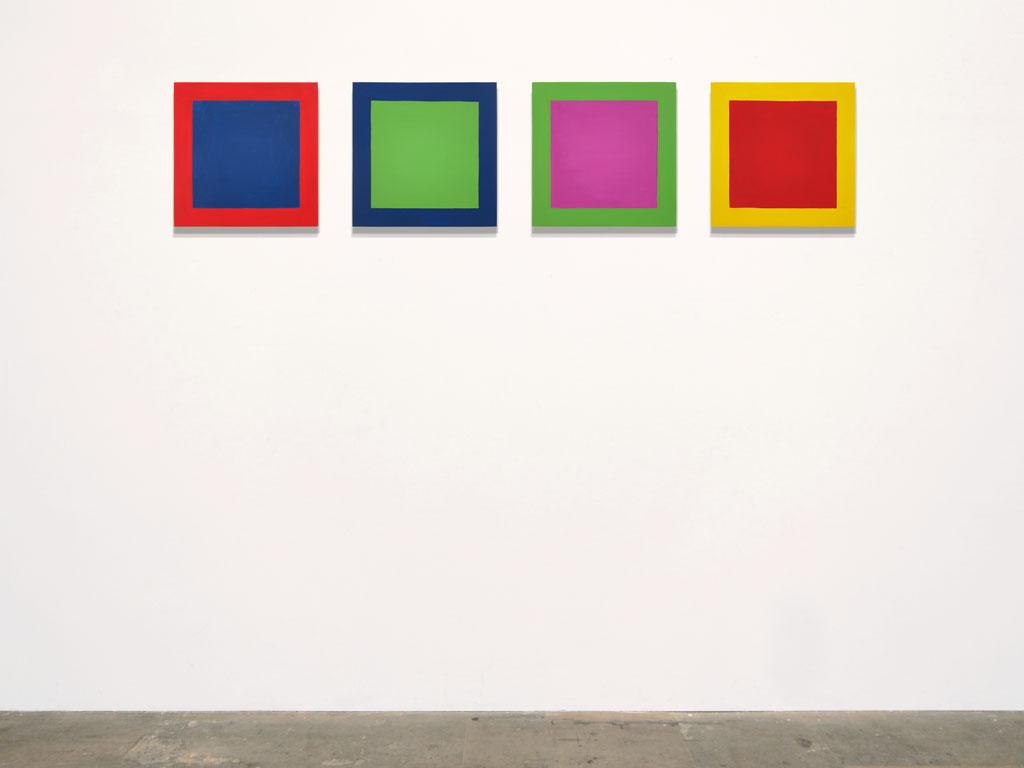 Claude Closky, 'Untitled (profound MR)', 2011, acrylic on canvas, 4 x 40 x 40 cm.