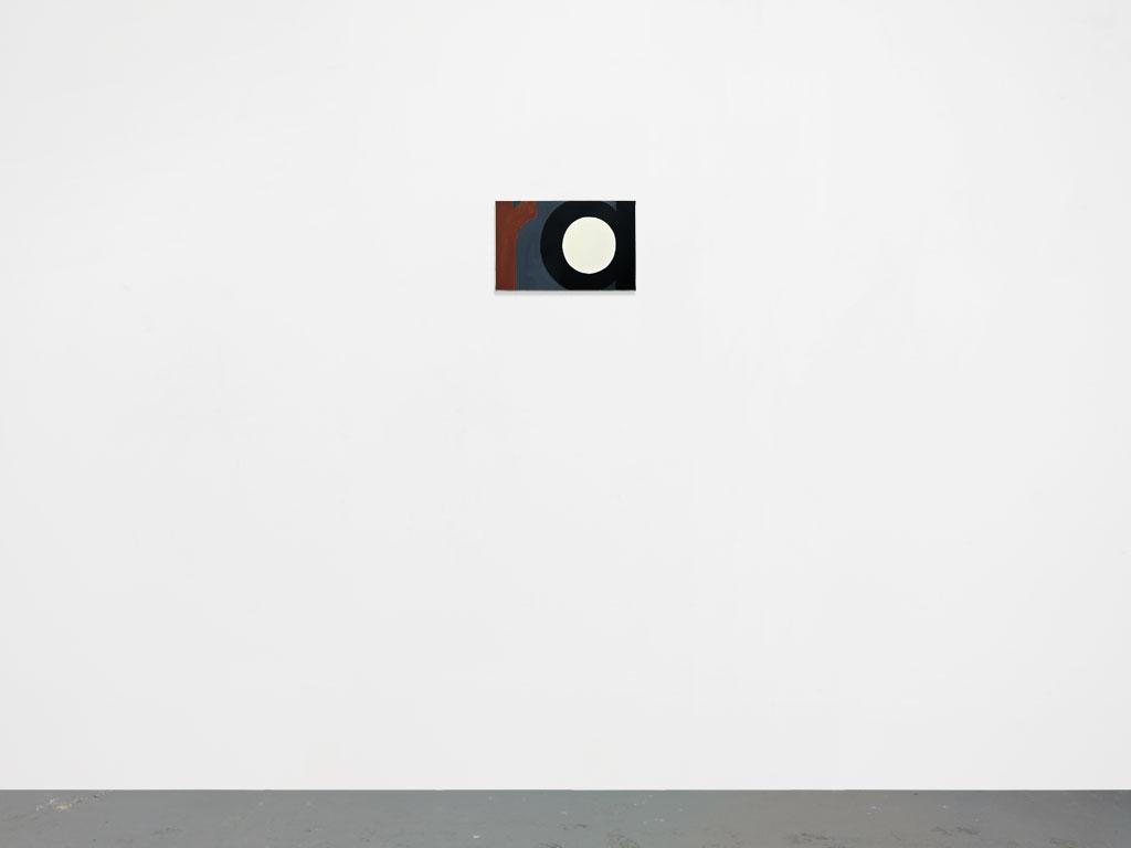 Claude Closky, 'Untitled (ra)', 2010, acrylic on canvas, 25 x 39 cm.
