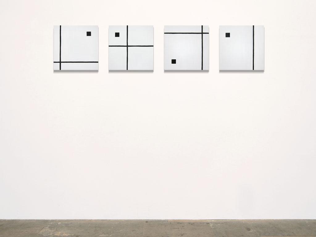 Claude Closky, 'Untitled (severe MR)', 2011, acrylic on canvas, 4 x 40 x 40 cm.