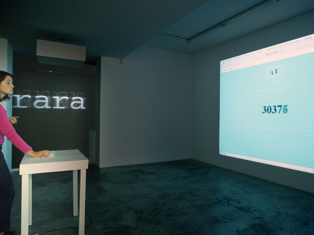 Claude Closky, 'Yiyi', Galerie Jennifer Flay, Paris. 16 September - 4 November 2000.